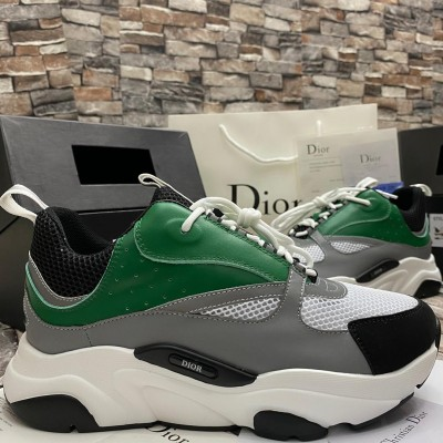 Smart Fashion Breathable Unisex Sneakers/Canvas - White&Green