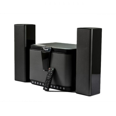ROYAL BLUETOOTH HOME THEATER (F8031) 80W Bluetooth Home Theatre with LED display, Satellite speakers, AUX, USB, FM