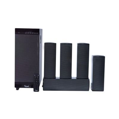 ROYAL BLUETOOTH HOME THEATRE (F15051) 150W 5.1CH Bluetooth Home Theatre with LED display, Satellite speakers, AUX, USB, SD, FM