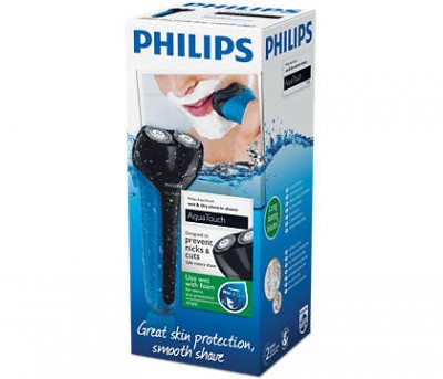 Philips AquaTouch Electric Shaver Wet & Dry