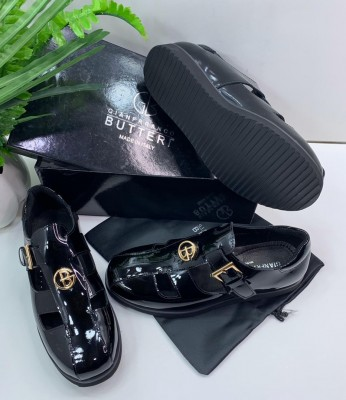 Men's Formal PU Leather Shoes Fashion Business Splice Shoes