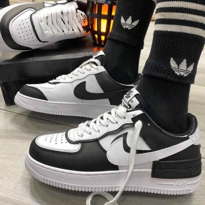 Mens Sneakers Casual Sport Shoes - White Black