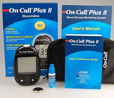on call plus II blood glucose monitoring system