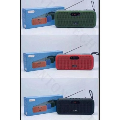 Global Accessories Rich Led Display L8s Stereo Sound Bluetooth FM Mp3 Speaker