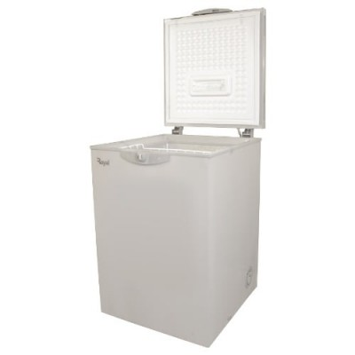 Royal 160 Litres Chest Freezer- Silver- Rcf- S160.