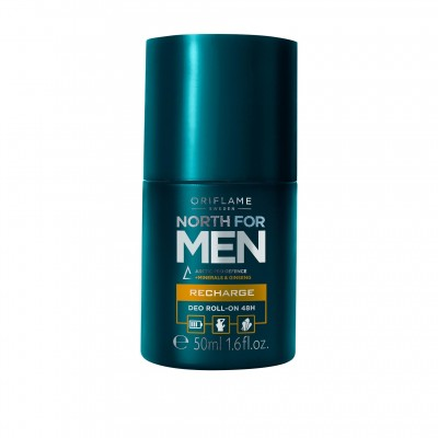 North for Men Recharge Deo Roll-On 48H