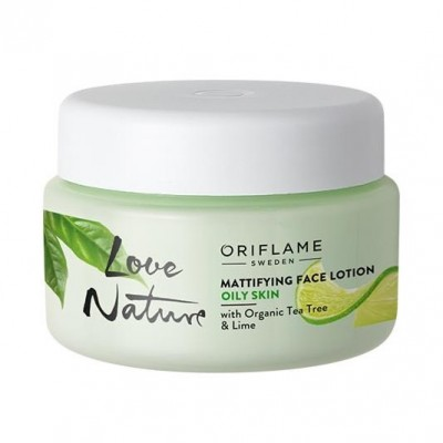 Love Nature Mattifying Face Lotion with Organic Tea Tree & Lime(50ml)