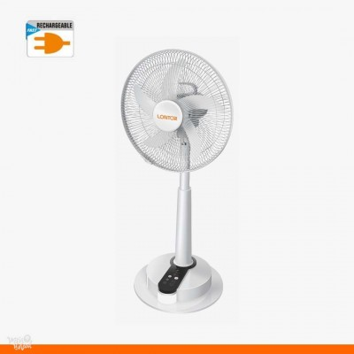Lontor Rechargeable Fan With Long Battery Life - 16