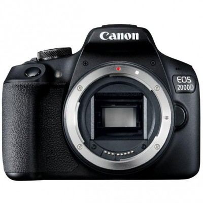 Canon EOS 2000D DSLR Camera and EF-S 18-55 mm Lens