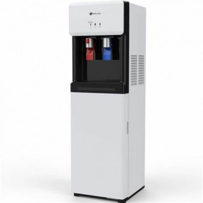 MAXI WD 1675 MAXI WATER DISPENSER, WHITE COLOR , 2 FAUCETS(HOT,COLD),REFRIGERATOR