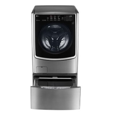 LG Front Loader AND DRYER (21kg Washer & 12kg Dryer) Automatic Washing Machine B|WM 0C9CDHK72|EXTRA 3.5KG CONNECTED