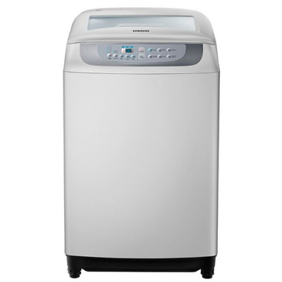 SAMSUNG Top Loader 8.5KG, Active wash, wobble technology, diamond drum, better fabric care with tangle les function,
