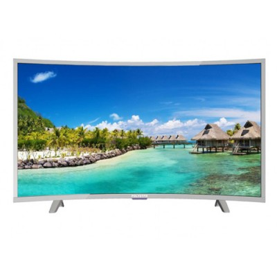 POLYSTAR PV-JP43CV2100BD 43 INCH ATV+SMART ANDROID 8.0 WITH 8G AND E SHARE FUCTIONS CURVE TELEVISION