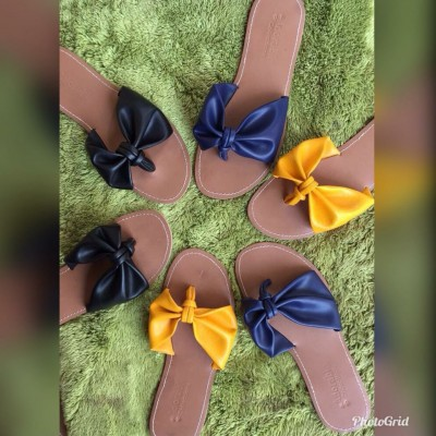 SHP BOW SLIPPERS