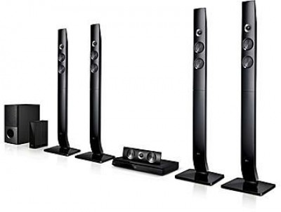 1200W,5.1 Ch, Bass Blast, Powerful Front Woofer, BT, 1 HDMI in & out,USB,Bluetooth, 4 Speakers-AUD 756
