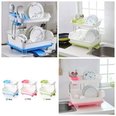 Plate Rack /Dish Drainer 2 Layers
