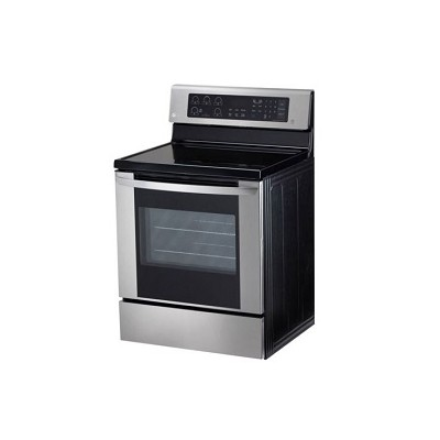 LG STOVE : 5 Electric Elements, Touch Controls , Silver, Fan Convection, 6.3 Cu. Ft. Oven Capacity, 120*73CM-LG STOVE 3163ST